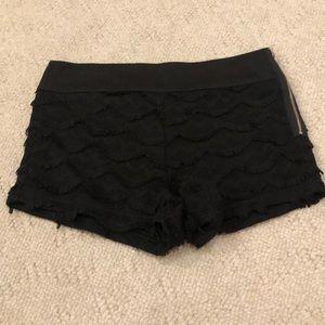 Pins and Needles Layered Shorts